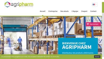 Site internet de Agripharm Sante Animale