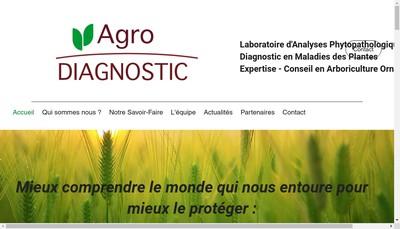 Site internet de Agrodiagnostic