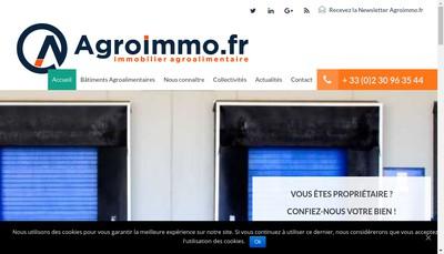 Site internet de Agroimmo Fr