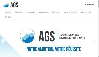 Site internet de Ags Experts Comptables