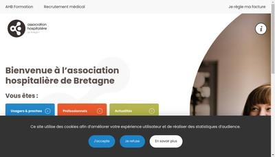 Site internet de Centre Hospitalier de Plouguernevel