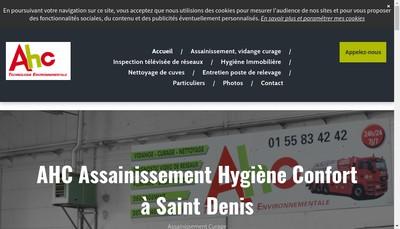 Site internet de Absorbleau- Absorbleau Ahc