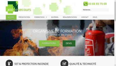 Site internet de Aid'O'Secours