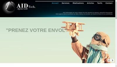 Site internet de Aid Technologie