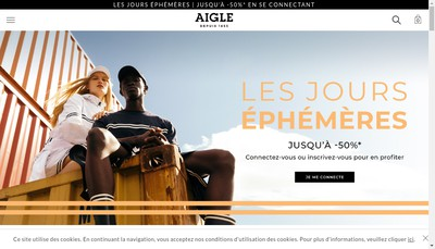 Site internet de Aigle