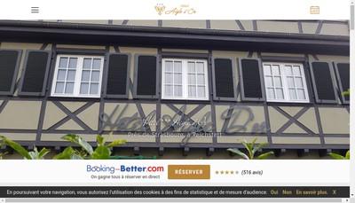 Site internet de Hotel a l'Aigle d'Or