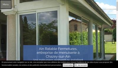 Site internet de Ain Ratable Fermetures