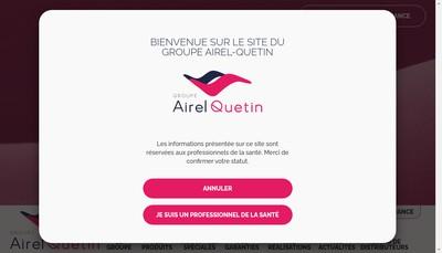 Site internet de Airel