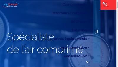 Site internet de Air Energie Ouest