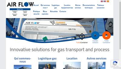 Site internet de Air Flow
