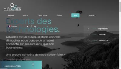 Site internet de Airnodes