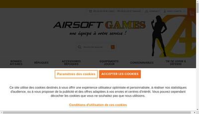 Site internet de Airsoft-Games