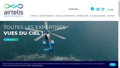 Site internet de Airtelis