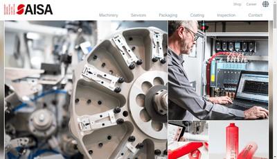 Site internet de Aisa Automation Industrielle France SAS
