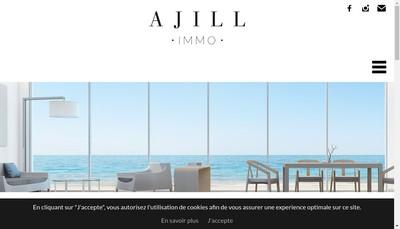 Site internet de Citya Ajill'Immo