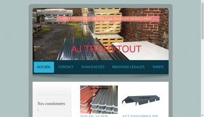 Site internet de Aj Trouvtout