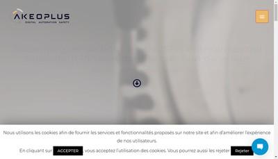 Site internet de Akeo Plus