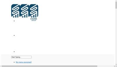 Site internet de Akoma Group
