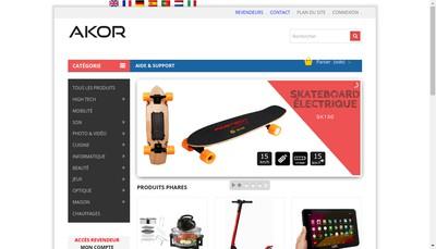 Site internet de Akor