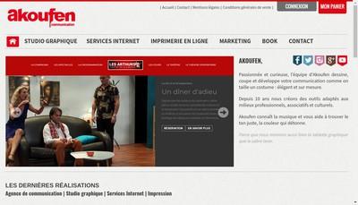 Site internet de Akoufen