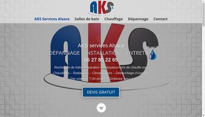 Site internet de Aks Services
