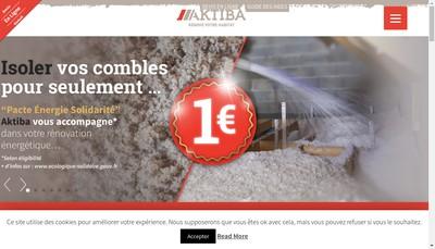 Site internet de Aktiba