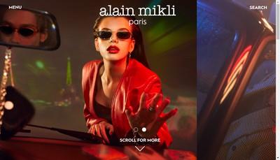 Site internet de Alain Mikli