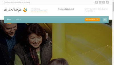 Site internet de Alantaya