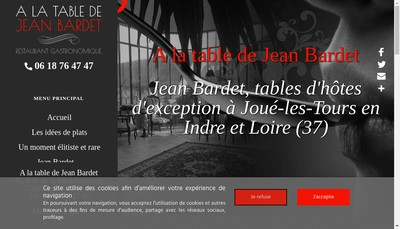 Site internet de SARL Jean Bardet