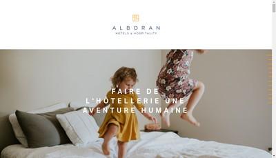 Site internet de Alboran