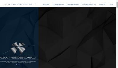 Site internet de Albouy Associes Consult