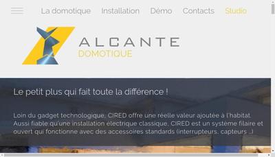 Site internet de Alcante
