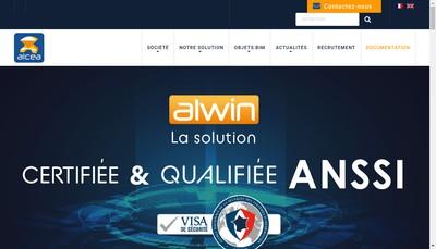 Site internet de Alcea