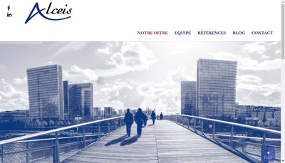Site internet de Alceis