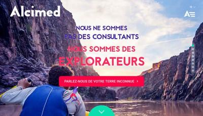 Site internet de Alcimed