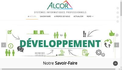 Site internet de Alcor