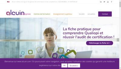 Site internet de Alcuin