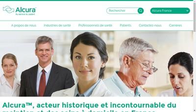 Site internet de Alcura