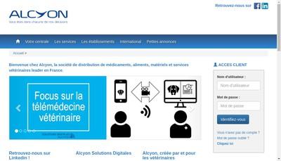 Site internet de Alcyon France
