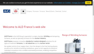 Site internet de Ald France