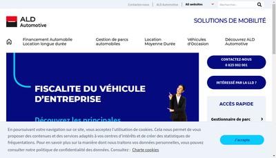 Site internet de Ald Automotive Russie
