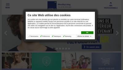 Site internet de Aldes
