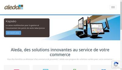 Site internet de Aleda SAS