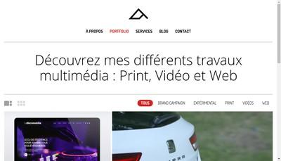 Site internet de Alexandre Jamot