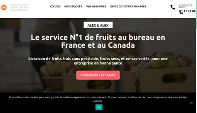 Site internet de Alex & Alex