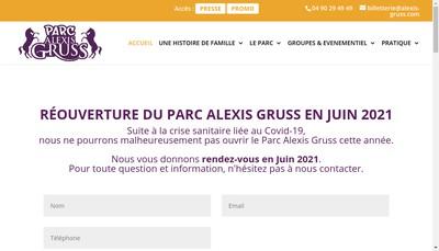 Site internet de Alexis Gruss