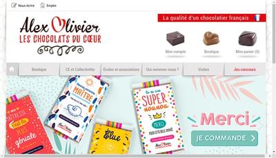 Site internet de Alex Olivier