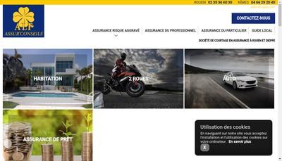 Site internet de Alf Assur'Conseils