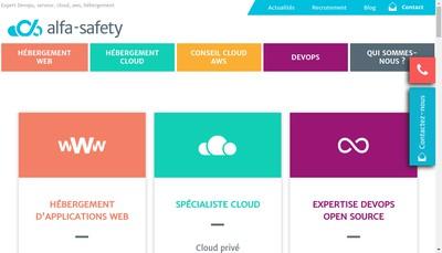 Site internet de Alfa Safety