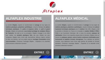 Site internet de Alfaplex